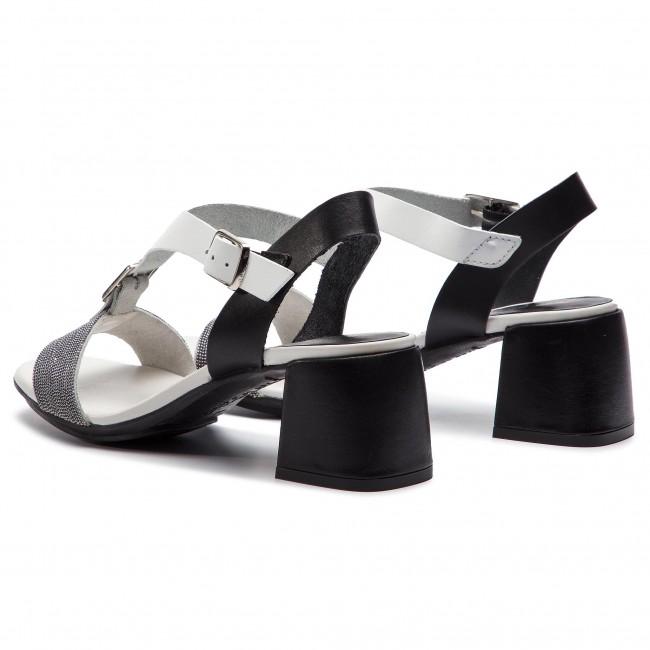0574e5d2b6630f Sandále HISPANITAS - Nerea HV98477 White/Black - Sandále na ...