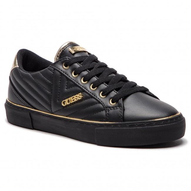 Sneakersy GUESS - FL5GRV ELE12 BLACK - Sneakersy - Poltopánky ... a502c4ed508