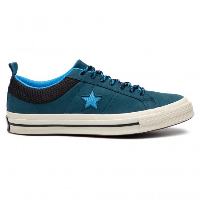 Tenisky CONVERSE - One Star Ox 162543C Blue Fir Blue Hero Black ... f2c5c5a42f2