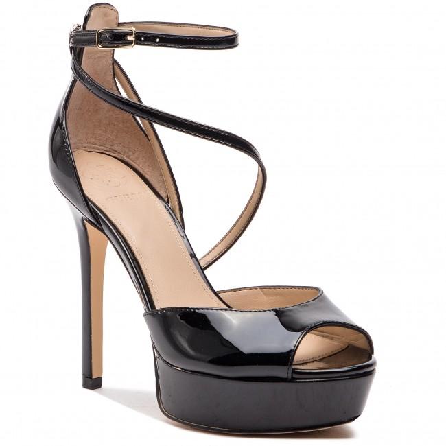 3be04d4eb455 Sandále GUESS - Lohana FL5LOH PAF03 BLACK - Elegantné sandále ...