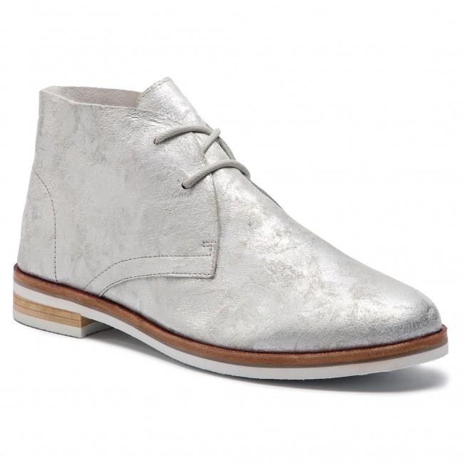 8f2035304698 Členková obuv CAPRICE - 9-25100-22 Silver Shin.Su 926 - Kotníková ...