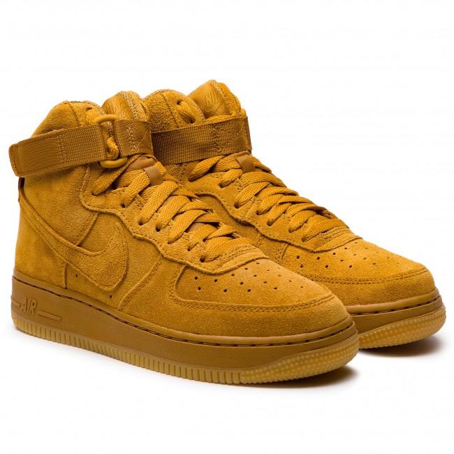 76625bb5ec9dd Topánky NIKE - Air Force 1 High Lv8 (GS) 807617 701 Wheat/Wheat Gum Light  Brown - Sneakersy - Poltopánky - Dámske - eobuv.sk