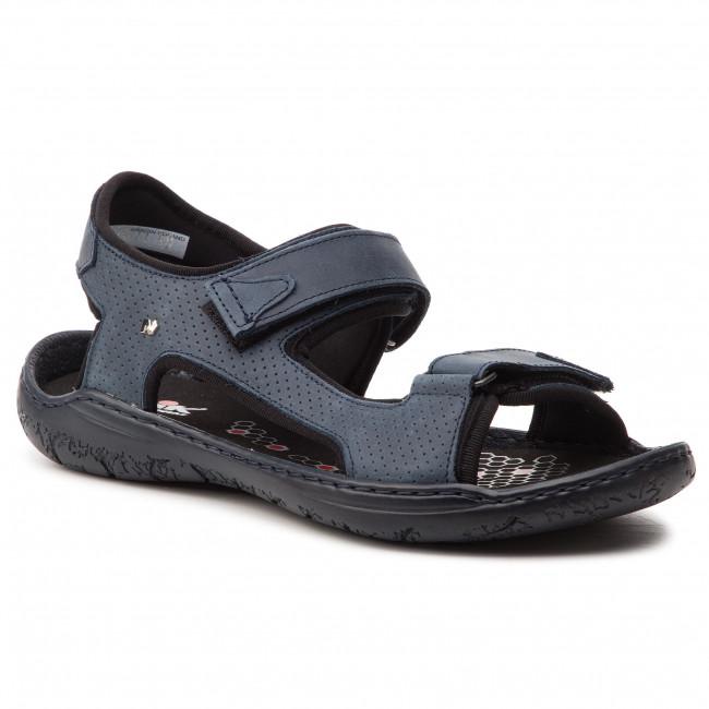 972fdc956266 Sandále NIK - 06-0232-09-8-09-03 Tmavo modrá - Sandále na každodenné ...