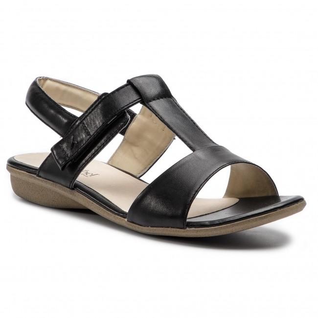 Sandále JOSEF SEIBEL - Fabia 16 87516 971 100 Schwarz - Sandále na ... bd65ca9e50a