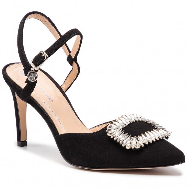 fb24acb0d9b9 Sandále SOLO FEMME - 75487-88-020 000-05-00 Čierna - Elegantné ...
