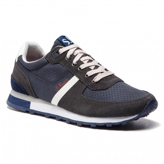 Sneakersy S.OLIVER - 5-13614-22 Navy 805 - Sneakersy - Poltopánky ... d3310794e5a