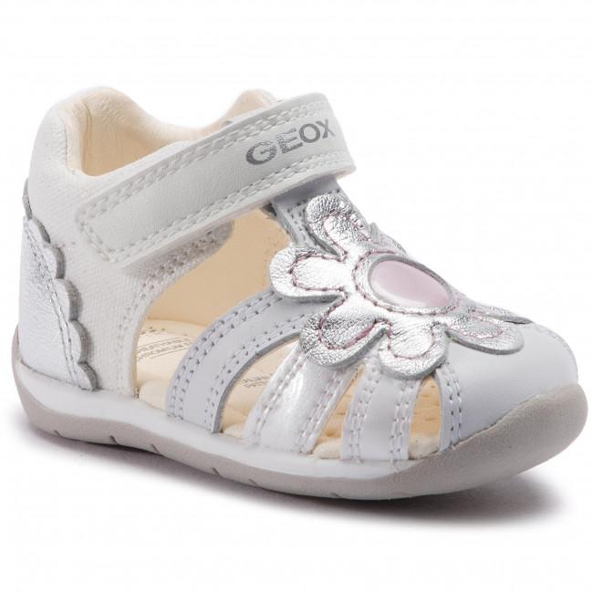 Sandále GEOX - B Each G. A B920AA 009KY C0007 M White Silver ... f0c27a5d4f