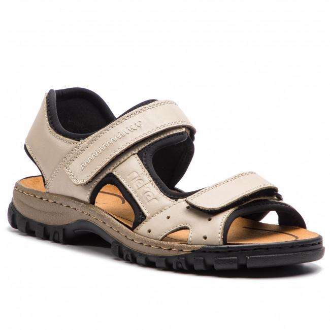 7c03e57e9c29 Sandále RIEKER - 25084-60 Beige - Sandále - Šľapky a sandále ...