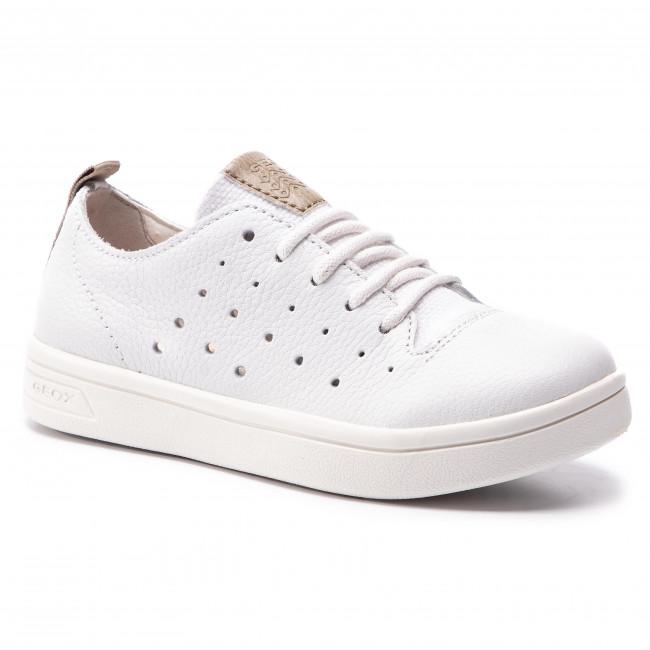 4c1c5ed216ac Sneakersy GEOX - J Djrock B. A J925VA 04610 C0405 S White Beige ...