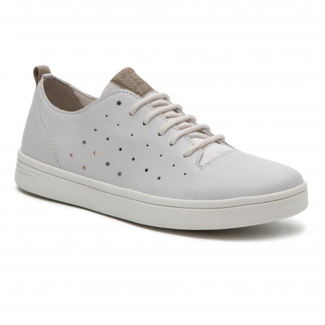 1f68d36247f1 Sneakersy GEOX - J Djrock B. A J925VA 04610 C0405 D White Beige ...