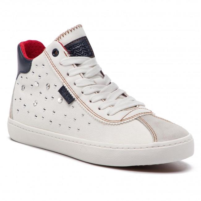 4aee64683282 Sneakersy GEOX - J Kilwi G. B J92D5B 01322 C1000 D White - Obuv na ...