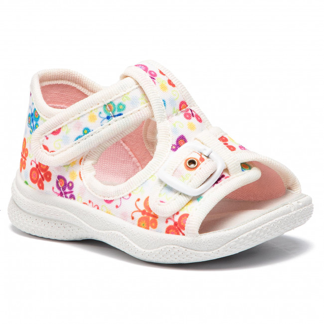8c6b6617179d Sandále SUPERFIT - 4-00292-10 M Weiss - Sandále - Šľapky a sandále ...