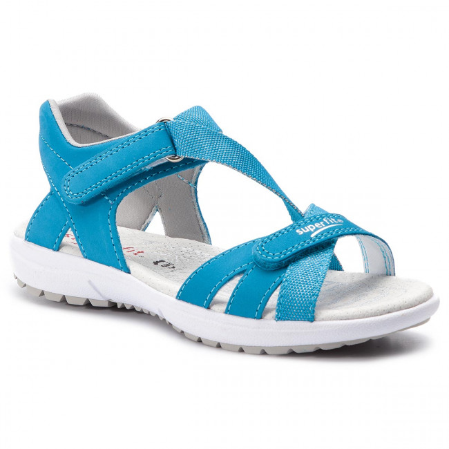 5a5601bd0f1b7 Sandále SUPERFIT - 4-09203-80 S Blau - Sandále na každodenné nosenie ...