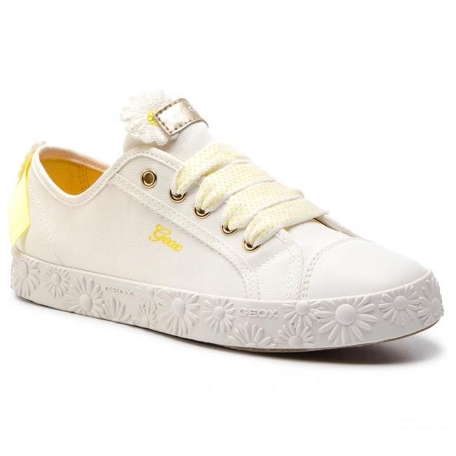 9c140fcd9c38 Sneakersy GEOX - Jr Ciak Girl K J9204K 00011 C1000 D White - Obuv na ...