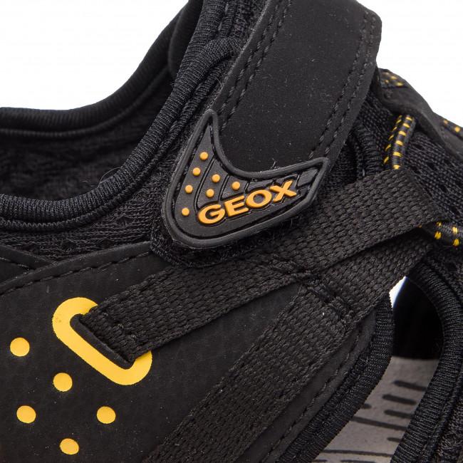 Sandále GEOX - J Borelis B. B J920RB 0CE14 C0054 S Black Yellow - Sandály -  Šľapky a sandále - Chlapec - Detské - www.eobuv.sk 618db6c14d6