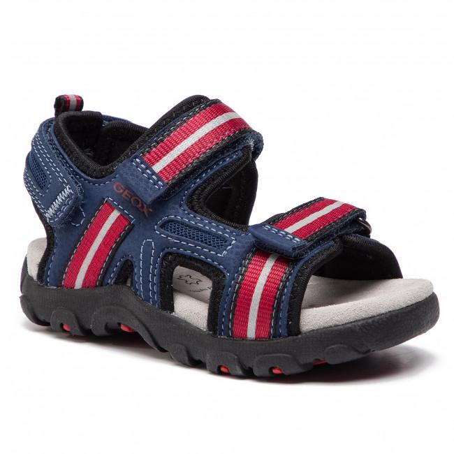 d49749f68798 Sandále GEOX - J S.Strada A J9224A 0CE14 C0200 M Blue Red - Sandály ...