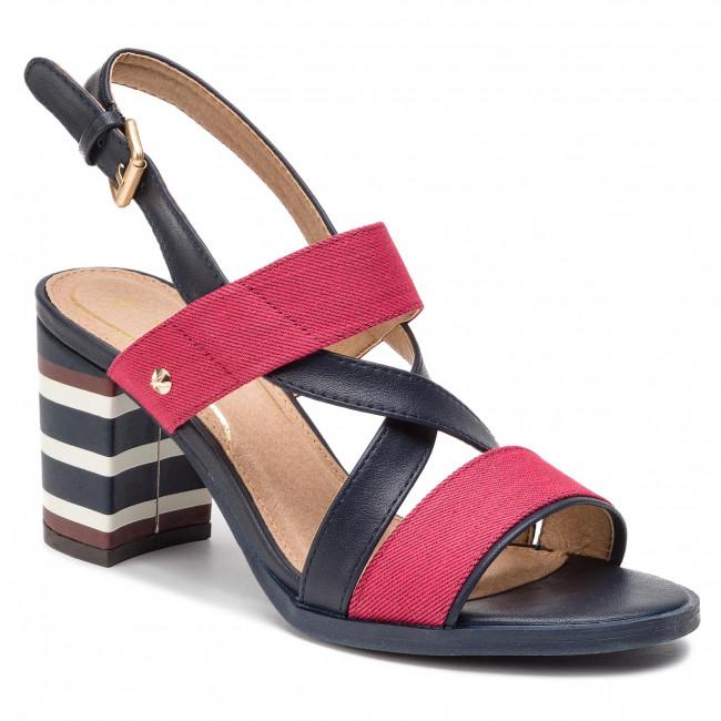 Sandále WRANGLER - America Dayla WL91611A Red - Sandále na ... d3d1b138aab