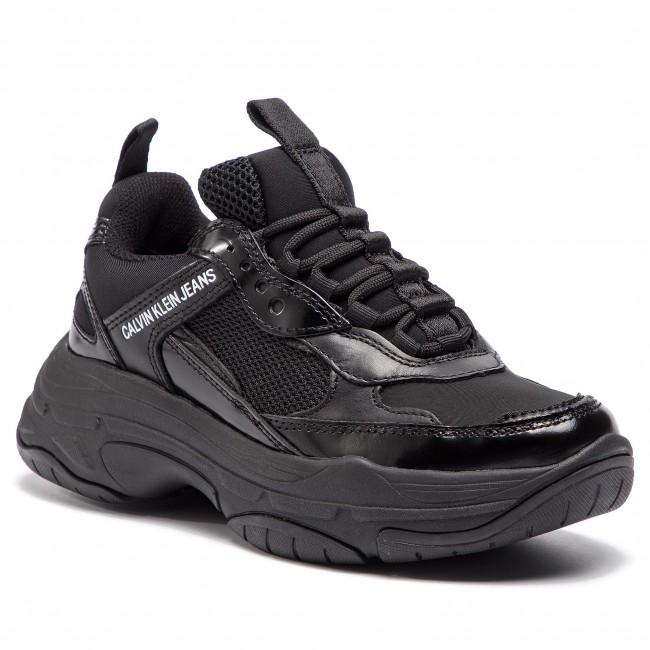 Sneakersy CALVIN KLEIN JEANS - Maya R7797 Black - Sneakersy ... 3146683a31