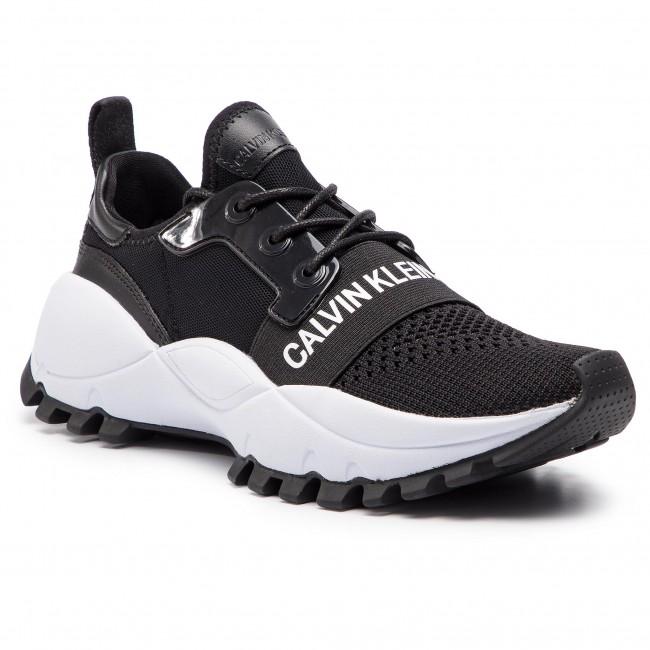 Sneakersy CALVIN KLEIN JEANS - Talula R7813 Black - Sneakersy ... bf35795f24