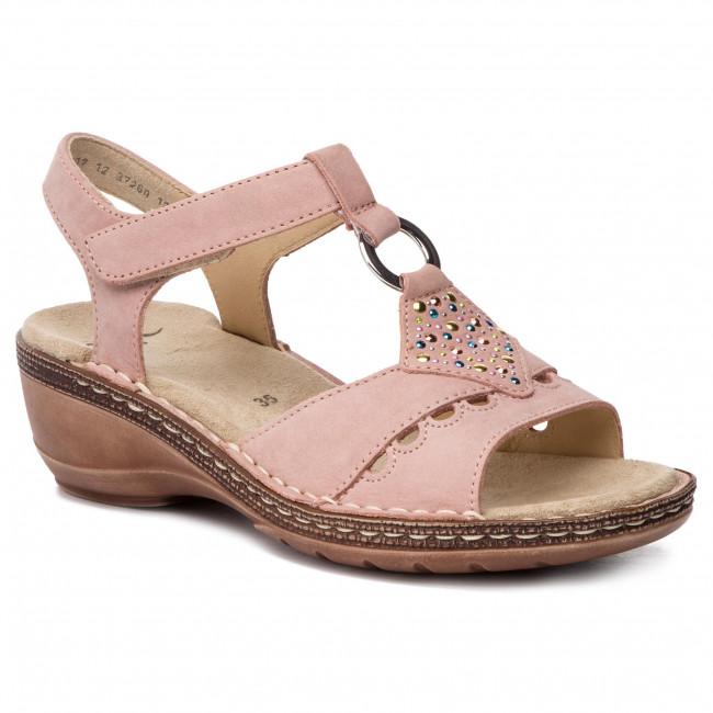 f5a9225d0822 Sandále ARA - 12-37260-12 Puder - Na klíne - Šľapky a sandále ...