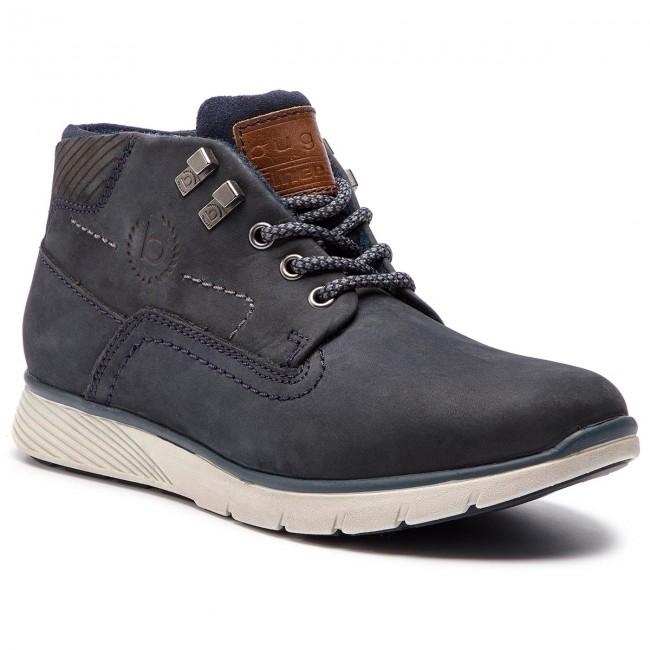 82435dd642f90 Outdoorová obuv BUGATTI - 321-54231-1500-4100 Dark Blue - Topánky ...