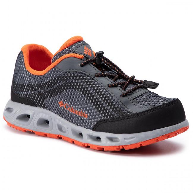 b27d6bf89a1f Trekingová obuv COLUMBIA - Youth Drainmaker IV BY1091 Graphite Tangy Orange  053