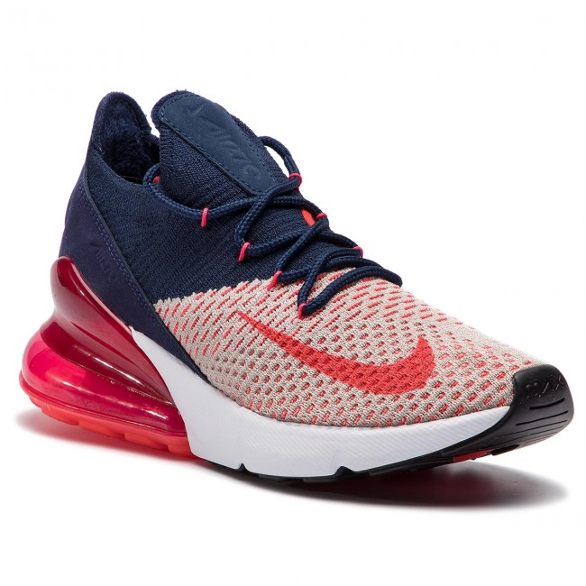 Topánky NIKE - Air Max 270 Flyknit AH6803 200 Moon Particle Red Orbit 134d65d8773