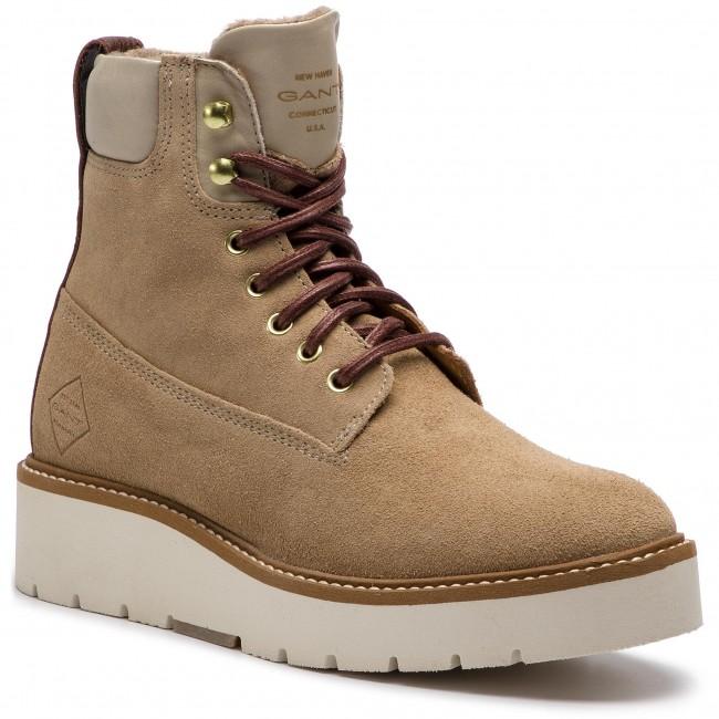 8d3c1e7d7e72 Členková obuv GANT - Casey 17543833 Camel G14 - Kotníková obuv ...