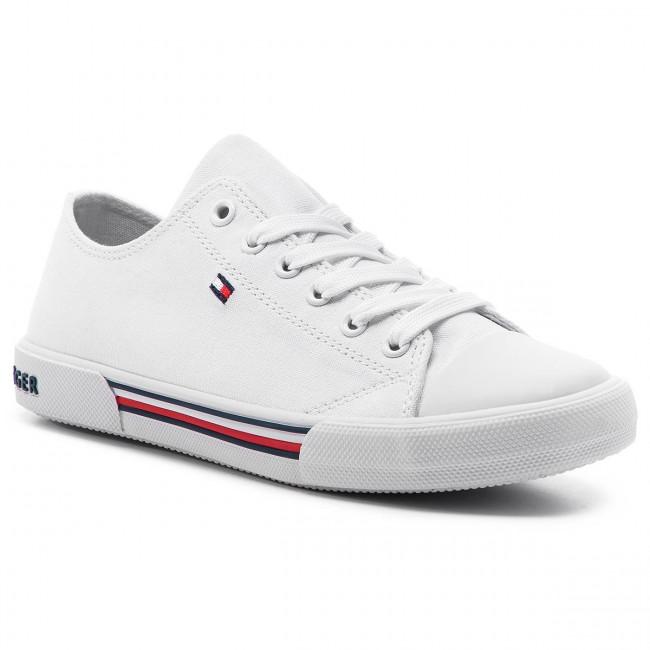 ddb0188dafbc Tramky TOMMY HILFIGER - Low Cut Lace-Up Sneaker T3X4-30278-0034 D ...