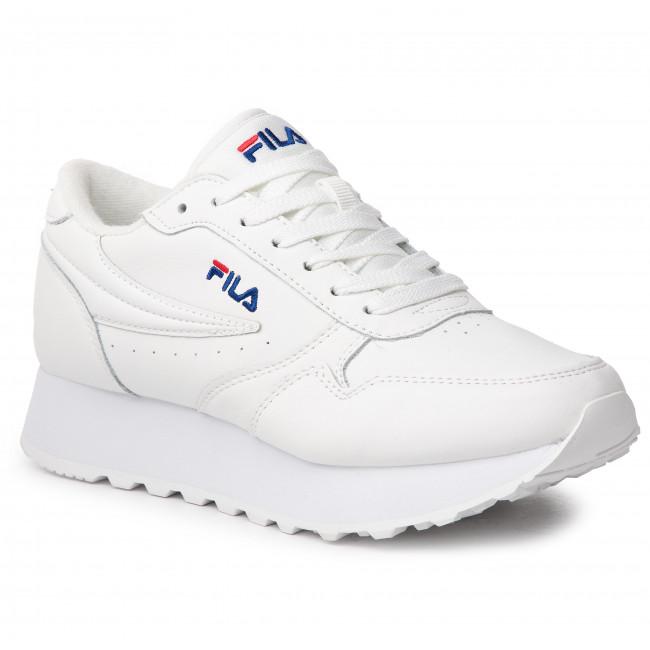 f93507210211 Sneakersy FILA - Orbit Zeppa L Wmn 1010311.1FG White - Sneakersy ...