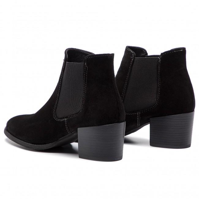 296b89e7e6fed Členková obuv TAMARIS - 1-25381-21 Black 001 - Kotníková obuv ...