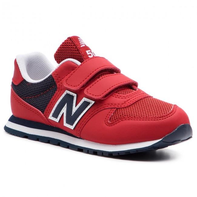 6948378860ea4 Sneakersy NEW BALANCE - YV500RD Červená - Na suchý zips - Poltopánky ...