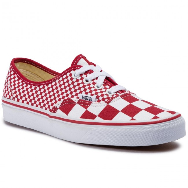 Tenisky VANS - Authentic VN0A38EMVK51 (Mix Checker) Chili Peppe ... 7937adcfa39