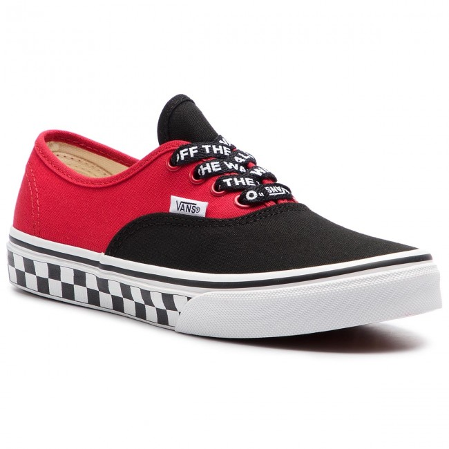 Tenisky VANS - Authentic VN0A38H3VI71 (Logo Pop) Black True Whi ... f7d11dd699f