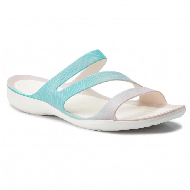 fac2270596 Šľapky CROCS - Swiftwater Seasonal Sandal W 205637 Pool Ombre White ...