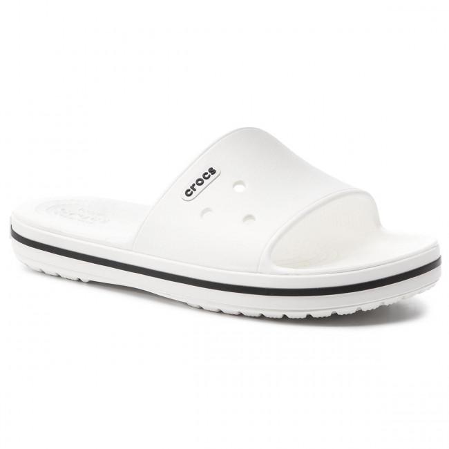 f77706f9a Šľapky CROCS - Crocband III Slide 205733 White/Black - Šľapky ...