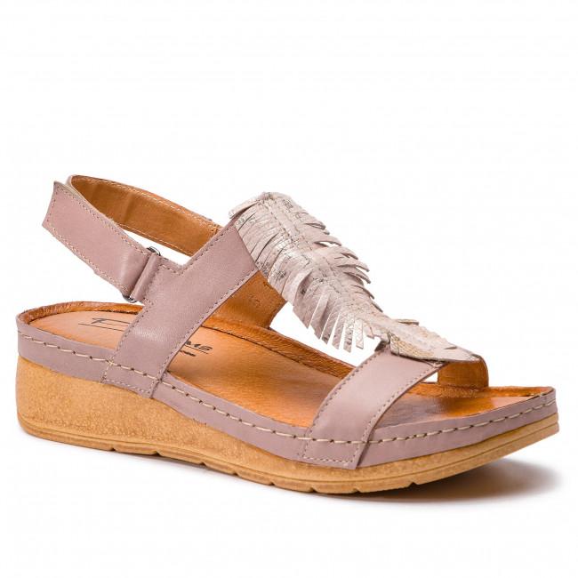 a84deb76d6a6 Sandále POLLONUS - 5-1089-002 Pigi Lico Pigi Złoty - Na klíne ...