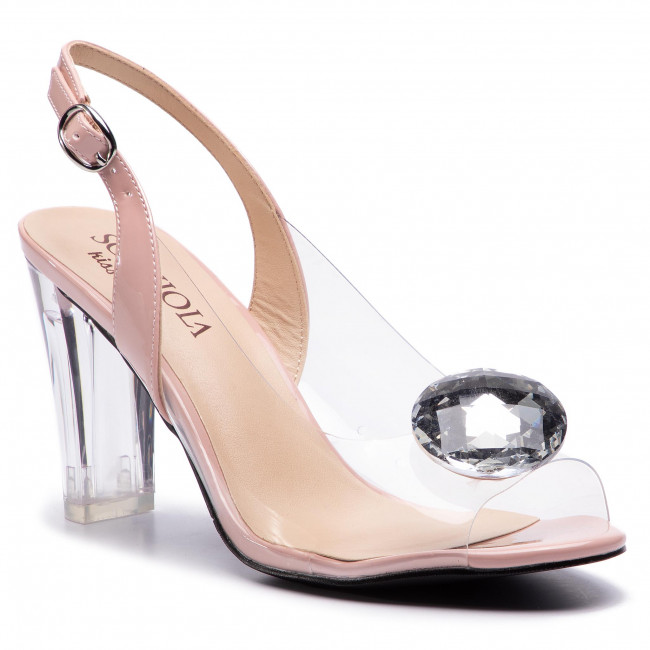 20932579b8ed Sandále SCA VIOLA - G-17 L.Pink - Elegantné sandále - Sandále ...