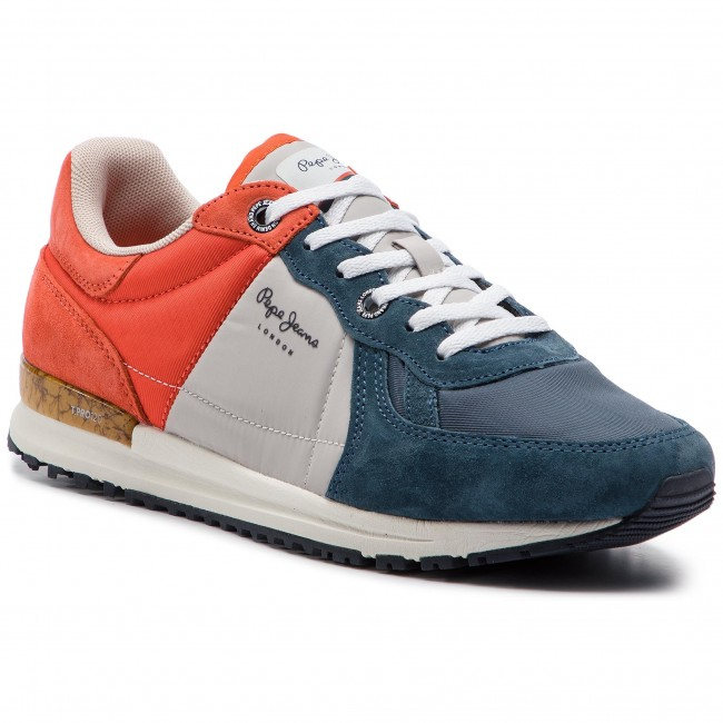 4c2fe43535 Sneakersy PEPE JEANS - Tinker Pro Camp Summer PMS30510 Old Navy 584 ...