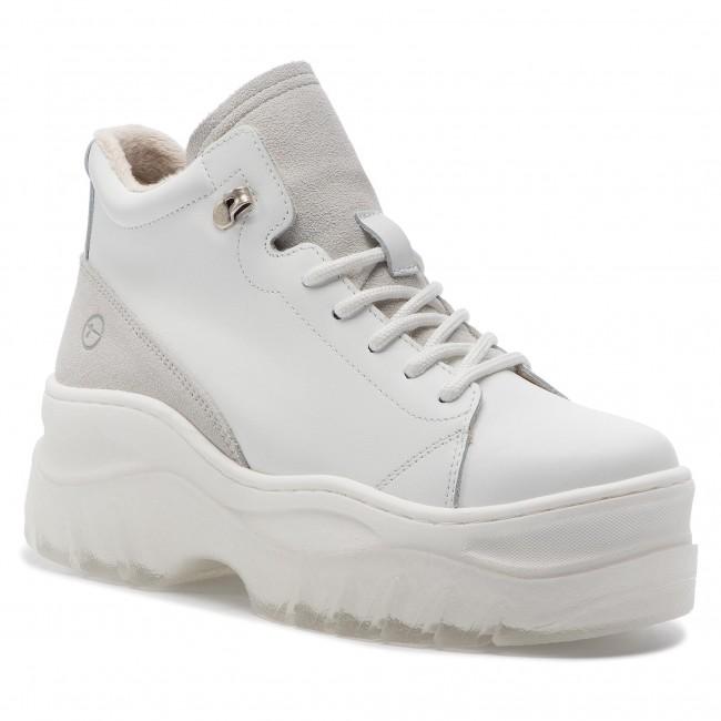 91fbaf9773b1 Sneakersy TAMARIS - 1-25248-31 White Leather 117 - Sneakersy ...