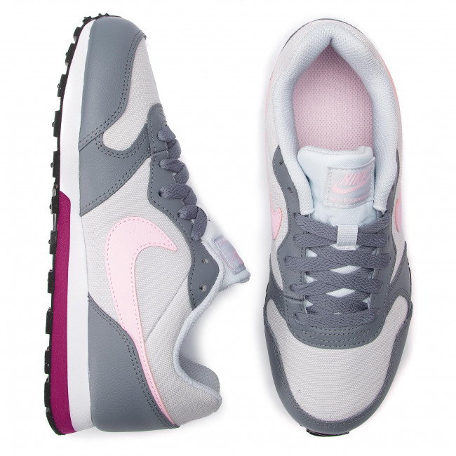 a04d163dfbe5b Topánky NIKE - Md Runner 2 (GS) 807319 017 Pure Platinum/Pink Foam -  Sneakersy - Poltopánky - Dámske - www.eobuv.sk