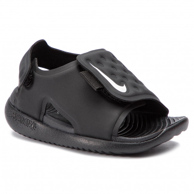 Sandále NIKE - Sunray Adjust 5 (TD) AJ9077 001 Black White - Sandále ... d7ca3d9b9bd