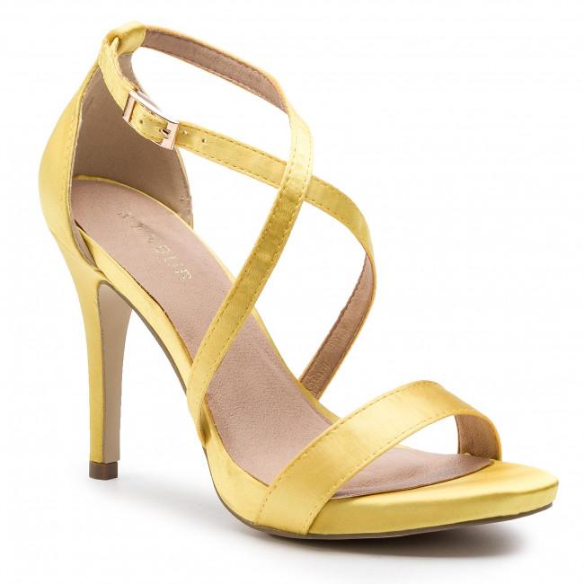 2e23ed857286f Sandále MENBUR - 20480 Yellow 0014 - Elegantné sandále - Sandále ...