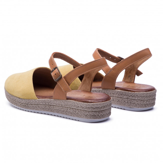 16ed3e068019 Sandále MACIEJKA - 03065-07 00-5 Žltá - Sandále na každodenné ...