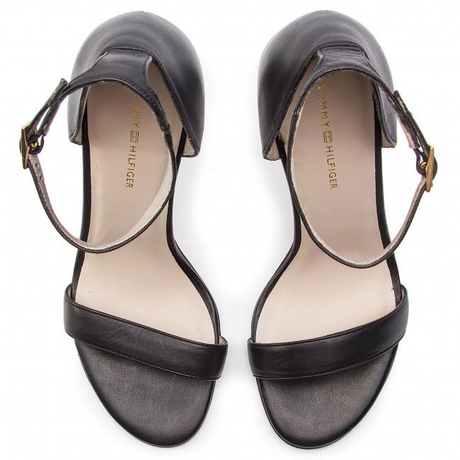 fb5ec91345d44 Sandále TOMMY HILFIGER - Feminine Strappy San FW0FW03702 Black 990 -  Elegantné sandále - Sandále - Šľapky a sandále - Dámske - www.eobuv.sk