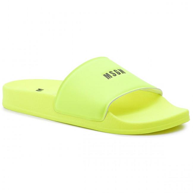 dcf1f7a950c5 Šľapky MSGM - Micro Logo Pool Slide 2642MDS15208 732 08 Žltá ...