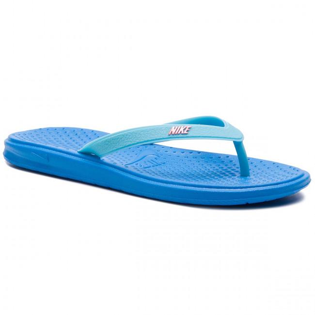 14fa1a811e0e Žabky NIKE - Solay Thong (GS PS) 882827 401 Phooto Blue - Žabky ...