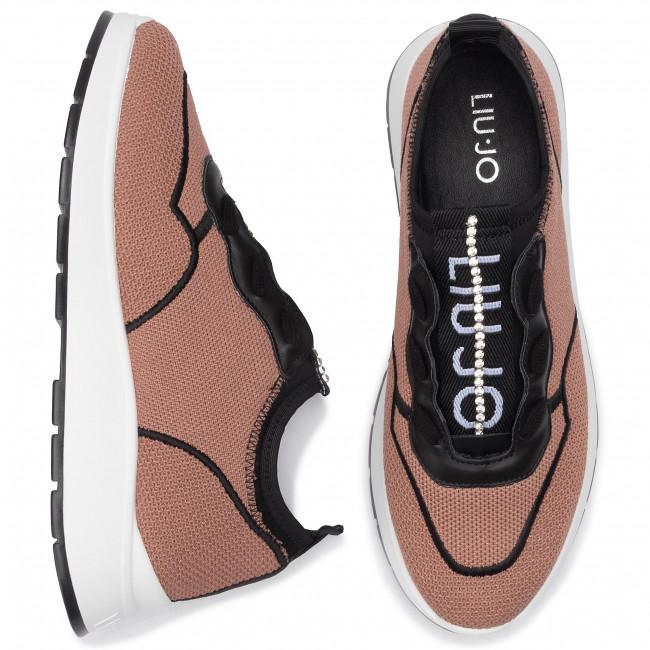 Sneakersy LIU JO Asia 04 B69007 TX047 Nude 51315