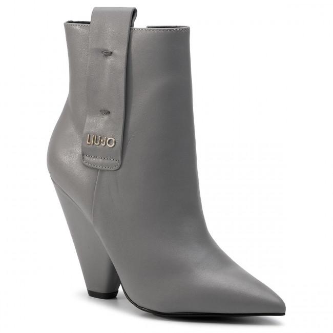 0a2f96a87d Členková obuv LIU JO - Guenda 07 S69023 P0062 Grey 01072 - Kotníková ...