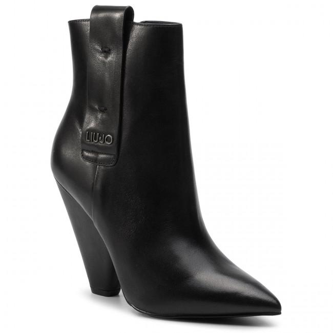 a217bc911b Členková obuv LIU JO - Guenda 07 S69023 P0062 Black 22222 ...